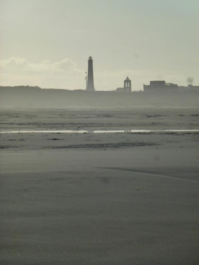 Borkum, vom Strand aus