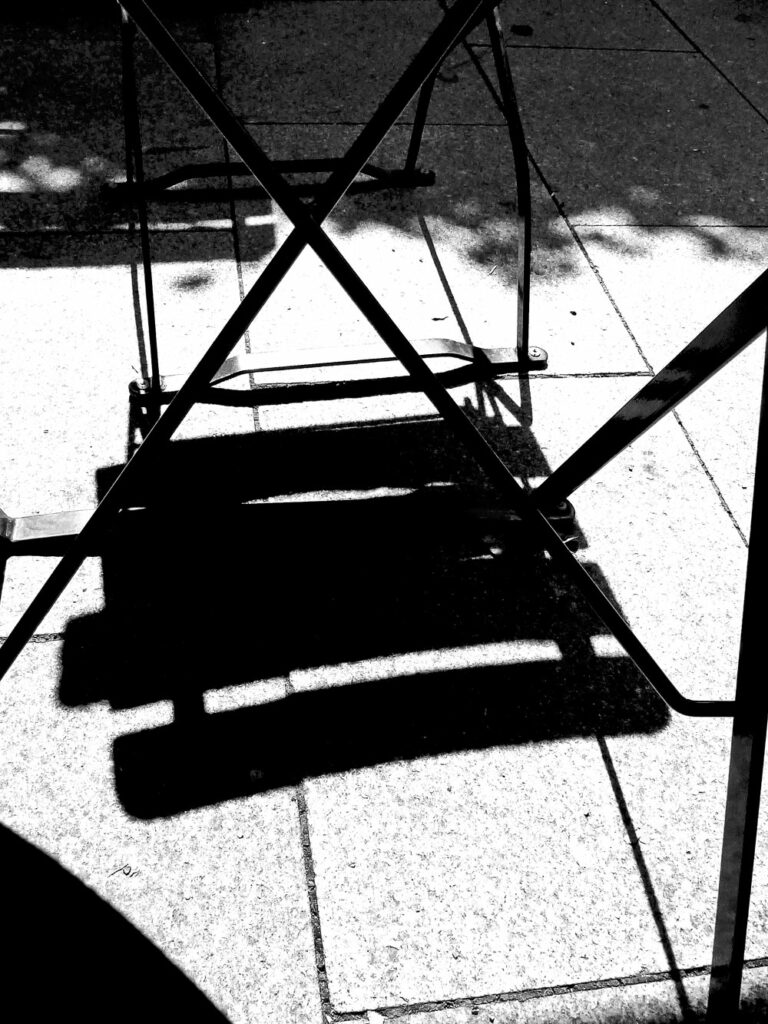 Stuhl 2D, Johann Seidl 2013, Fotografie