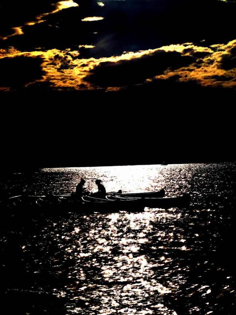Boote am Lac d'Esparron