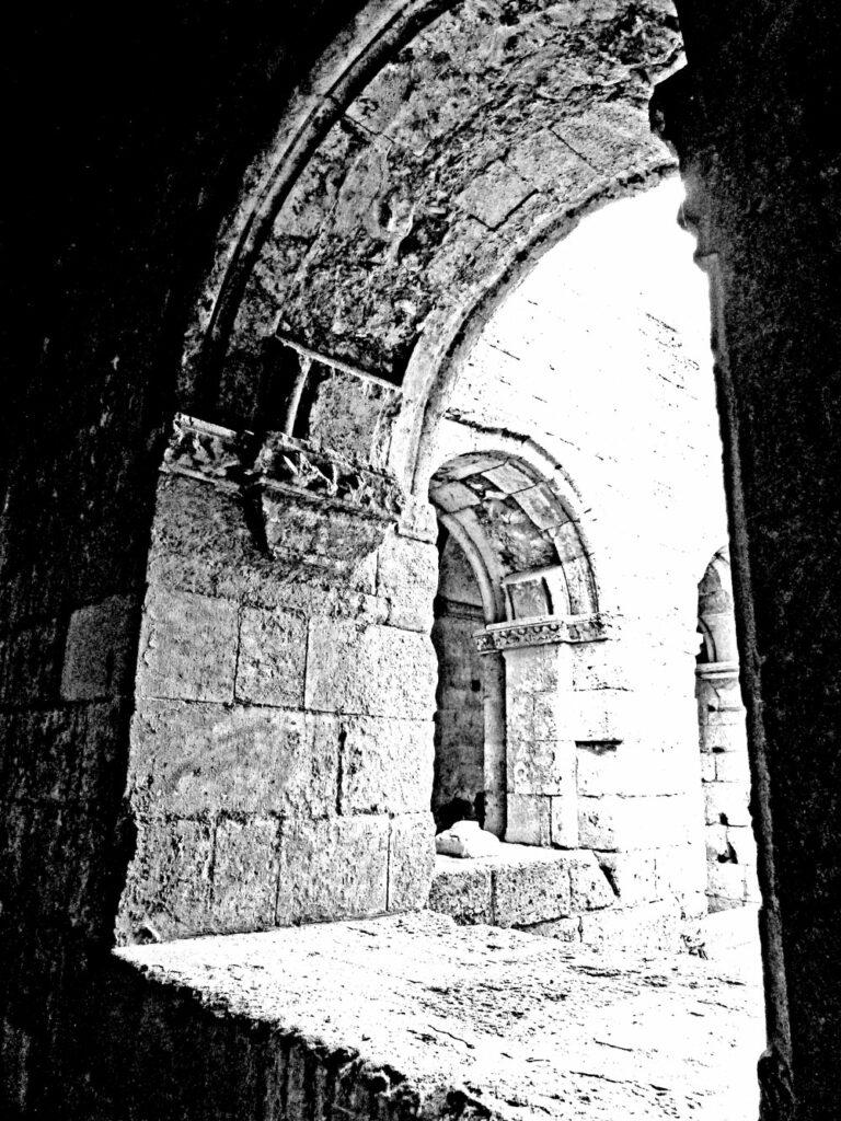 Im Kreuzgang der Abbaye Silvacane