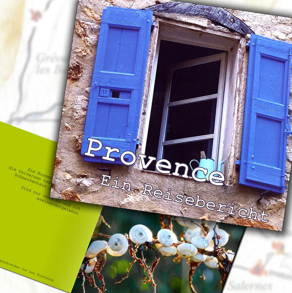 "Cover des Lyrikbandes ""Provence - ein Reisebericht"""